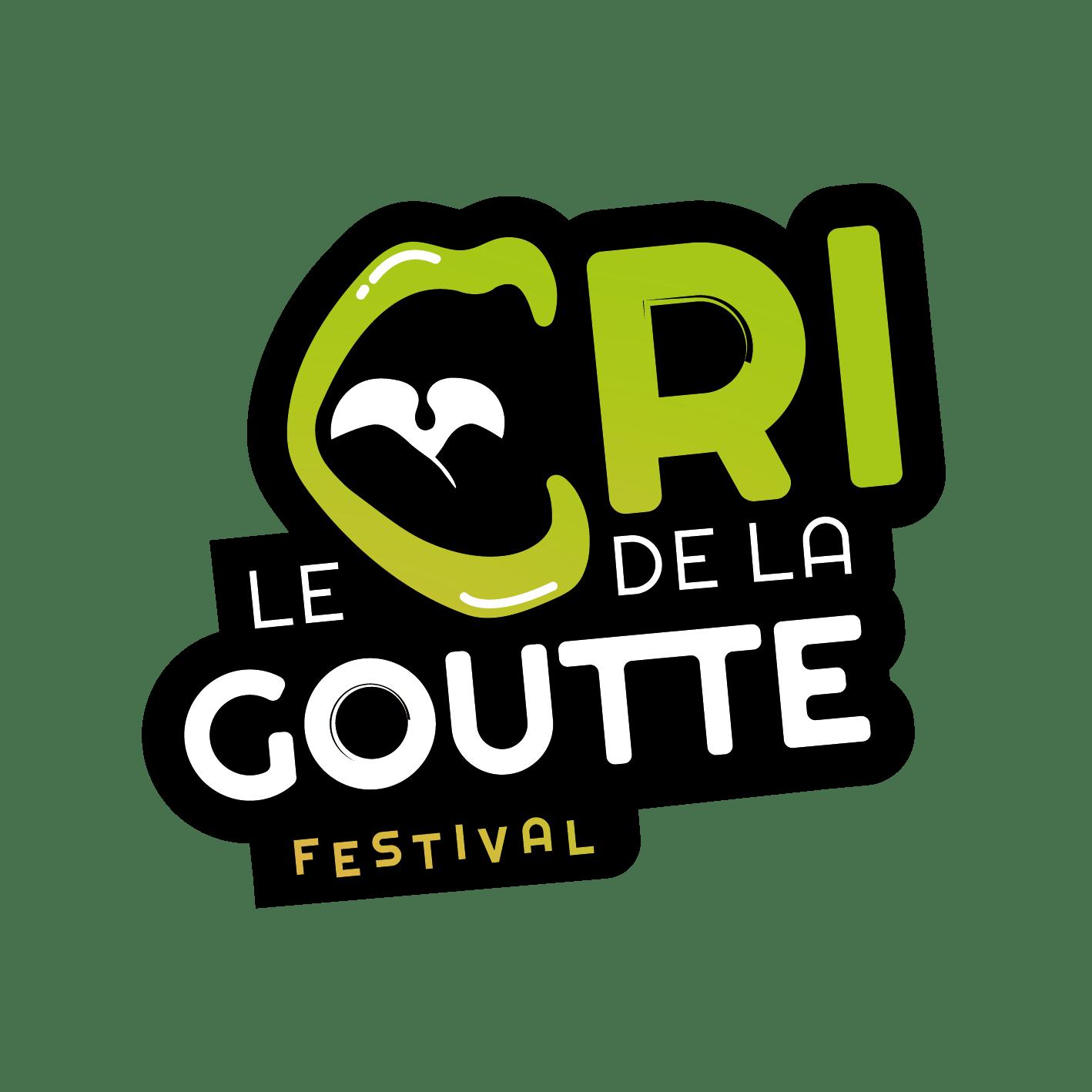 Logo Cri de la goutte, festival sponsorisé par A.R.D.E. Diagnostics immobiliers